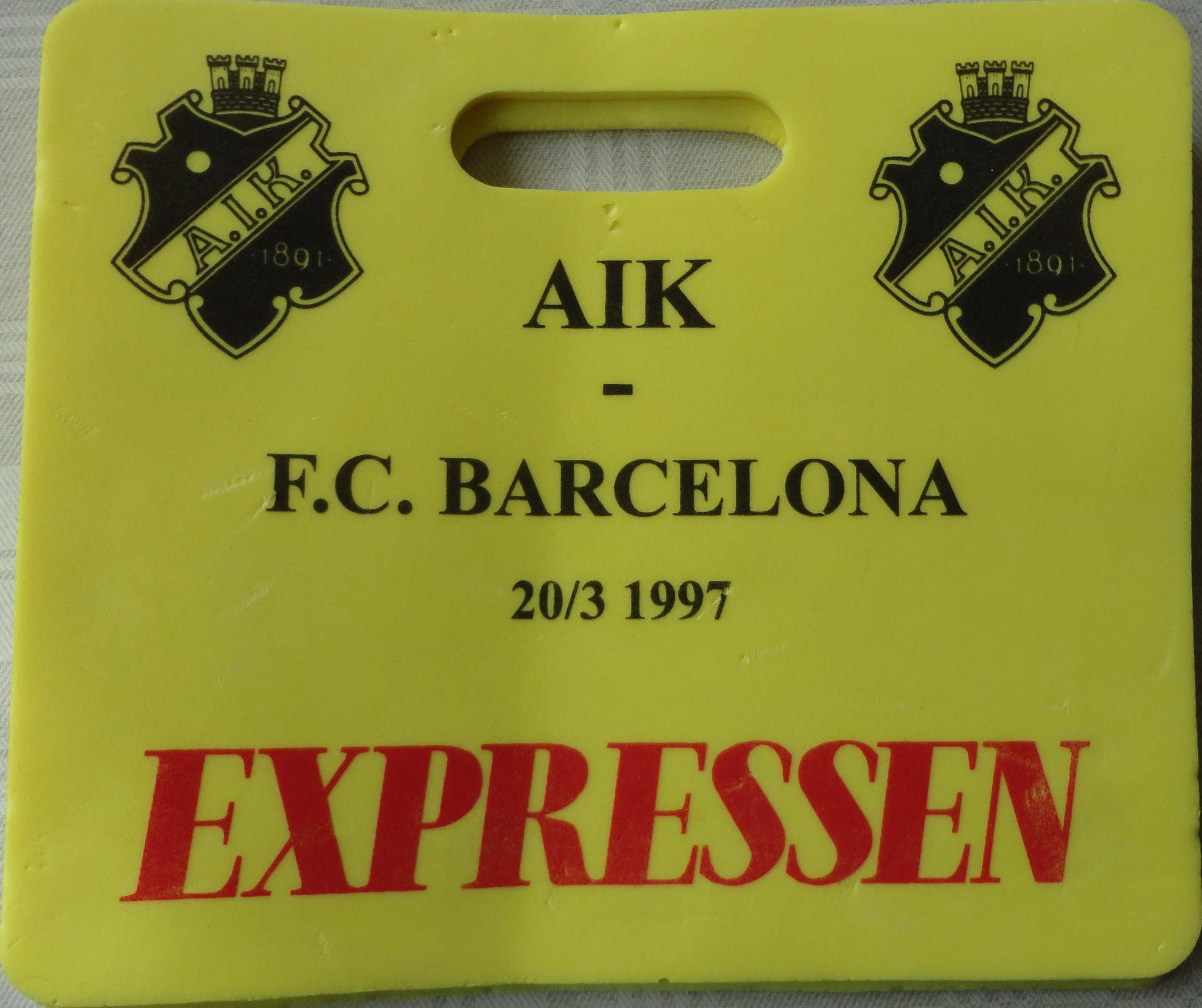 A.I.K. - Barcelona 1997-03-20