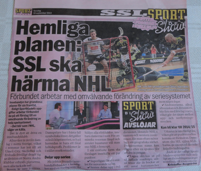 Sportbladet 2013-09-19