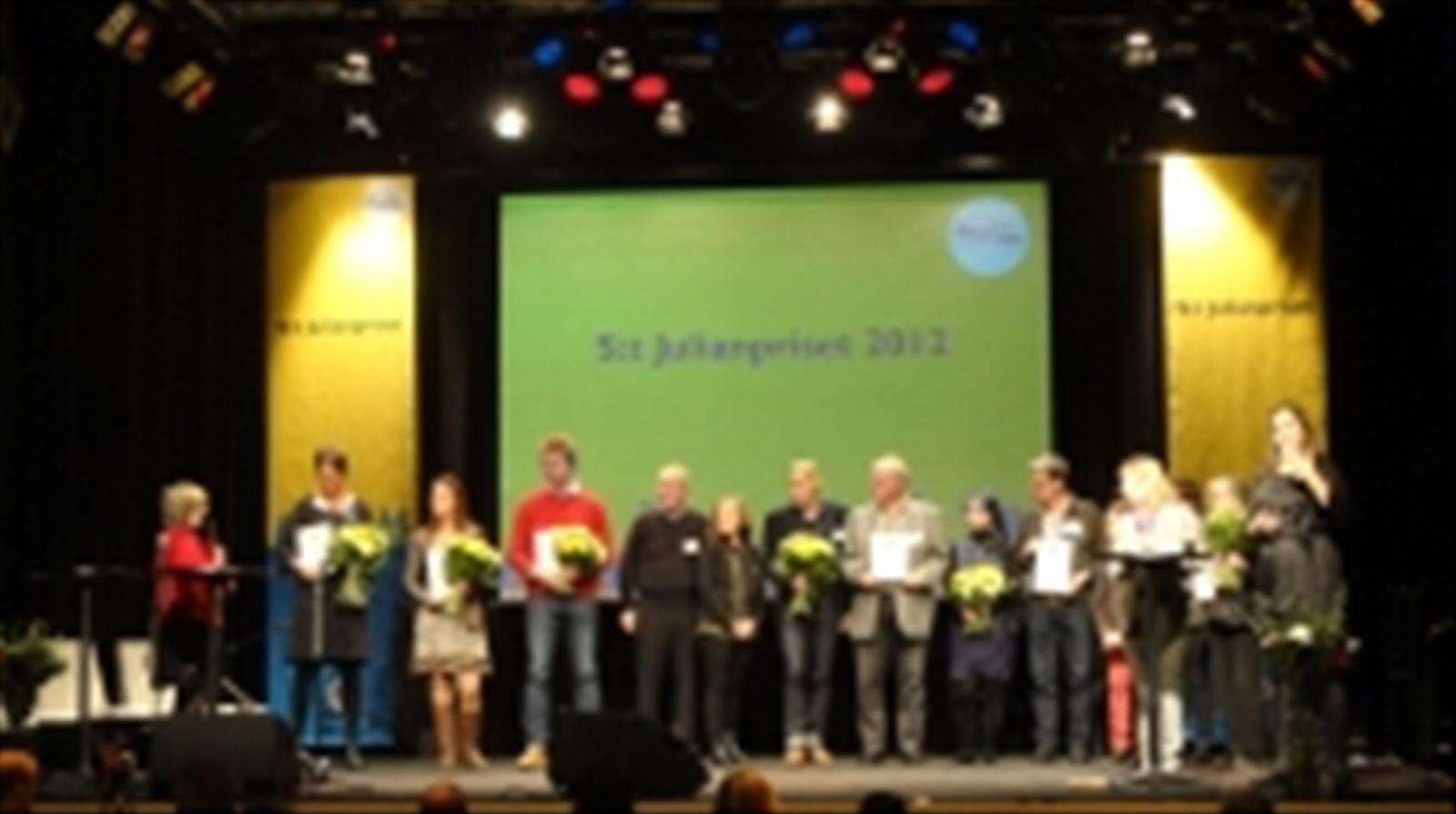 Samtliga nominerade 2012
