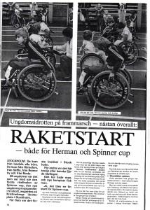 Stockholmrullstol sid 1, 1985