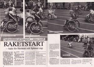 Handikappidrott nr 8, 1985