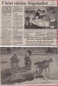 DN runt stan, sid 1 1985-08-05