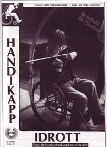 Handikappidrott nr 2 sidan 1, 1987