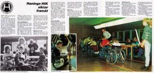 Stockholms handikapp idrottsförbund, nr 1 1987