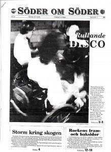 Söder om söder sidan 1, 1990-05-15